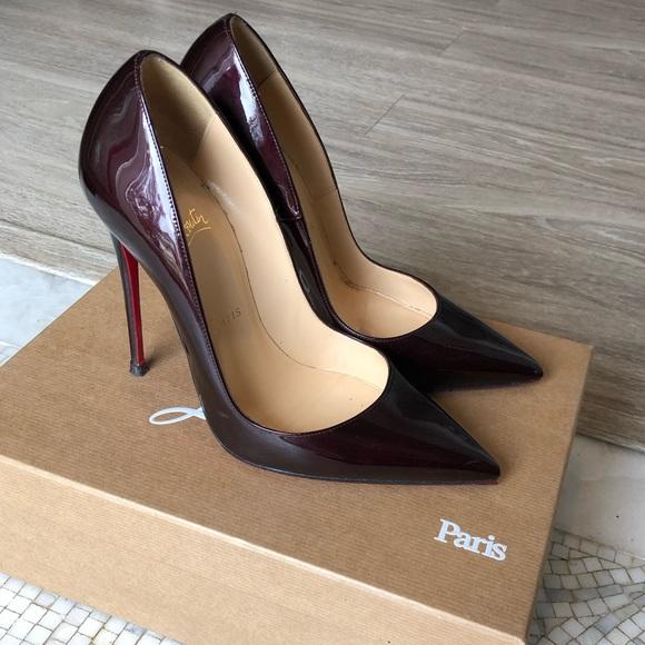 chaussure louboutin rouge et noir